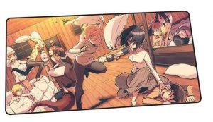 Barracks Pillow Fight design 11 / Size 600x300x2mm Official Anime Mousepads Merch