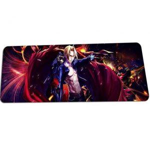 Edward Elrics Crimson Coat mat 10 / Size 700x300x2mm Official Anime Mousepads Merch