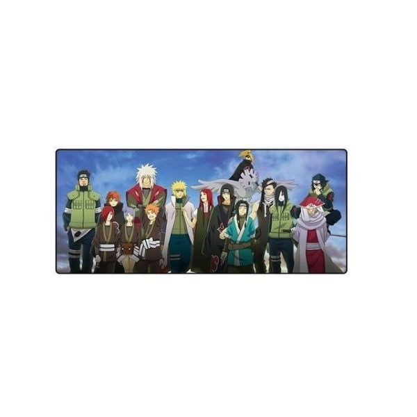 Konoha Second Shinobi Wars Default Title Official Anime Mousepads Merch