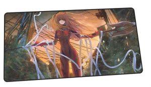 Deadly Asuka design 2 / Size 600x300x2mm Official Anime Mousepads Merch