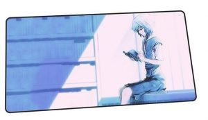 School Girl Rei design 8 / Size 600x300x2mm Official Anime Mousepads Merch