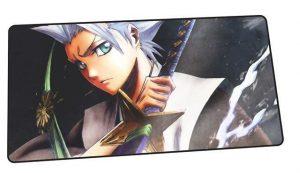 Hitsugaya and His Zanpakutō design 9 / Size 600x300x2mm Official Anime Mousepads Merch