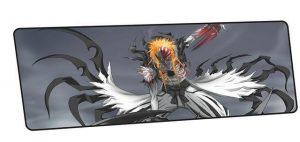 Ichigo's Hollowfication design 7 / Size 600x300x2mm Official Anime Mousepads Merch