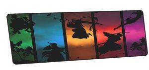 Bleach Silhouettes design 8 / Size 600x300x2mm Official Anime Mousepads Merch