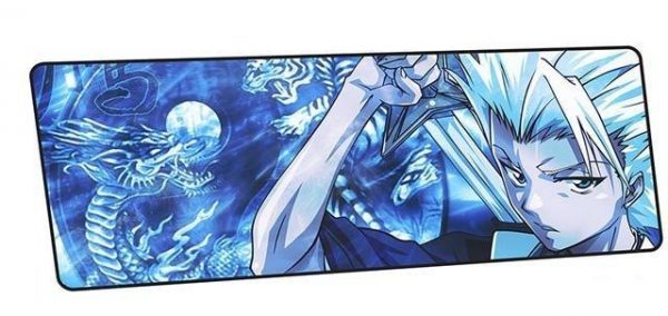 Hitsugaya Frost Dragon design 10 / Size 600x300x2mm Official Anime Mousepads Merch