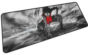 Luffy's Rage mousepad 1 / Size 600x300x2mm Official Anime Mousepads Merch