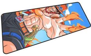 Portgas D. Ace mousepad 2 / Size 600x300x2mm Official Anime Mousepads Merch
