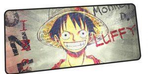 Lufffy Grin mousepad 1 / Size 600x300x2mm Official Anime Mousepads Merch
