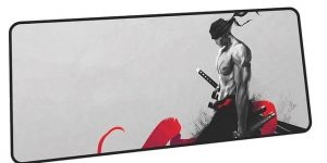 Abstract Zoro mousepad 4 / Size 600x300x2mm Official Anime Mousepads Merch