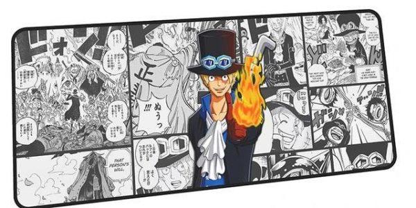 Firefirst Sabo mousepad 9 / Size 600x300x2mm Official Anime Mousepads Merch
