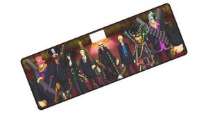 Strawhat Gangster Crew pad 5 / Size 700x300x2mm Official Anime Mousepads Merch