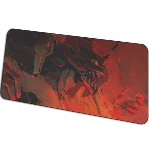 The Power of EVA pattern 4 / Size 600x300x3mm Official Anime Mousepads Merch