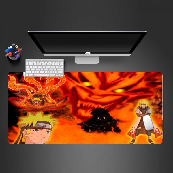 Naruto Meets His Father 250x290x2mm Official Anime Mousepads Merch