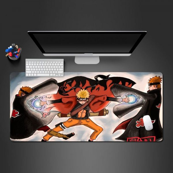 Naruto Sage Mode Rasengan 250x290x2mm Official Anime Mousepads Merch