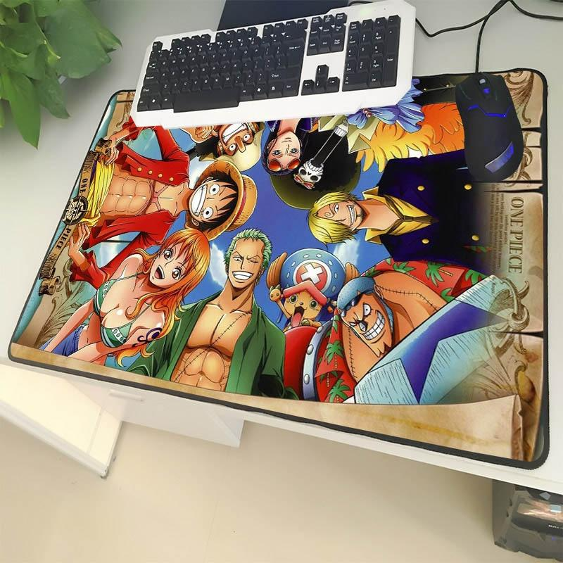Strawhat Crew Huddle 250X290X2MM Official Anime Mousepads Merch