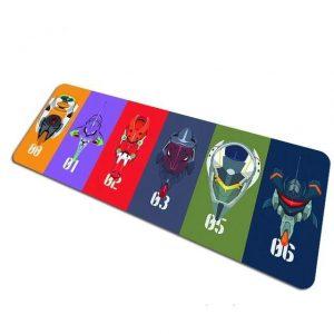 EVA Legacy pad 5 / Size 700x300x2mm Official Anime Mousepads Merch