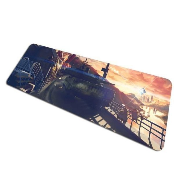 The Fortress City pad 10 / Size 700x300x2mm Official Anime Mousepads Merch