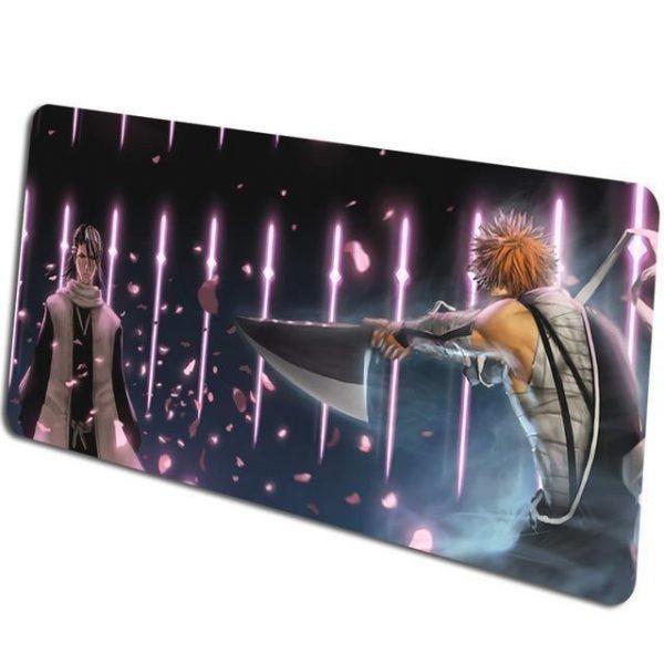 Ichigo vs Byakuya pattern 4 / Size 600x300x2mm Official Anime Mousepads Merch