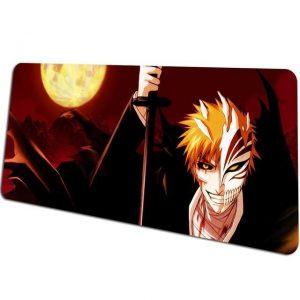 Half Hollow Ichigo in the Full Moon mousepad 1 / Size 600x300x2mm Official Anime Mousepads Merch