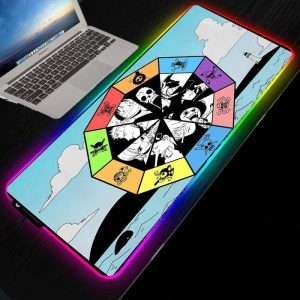 Strawhat Zodiac Signs NO LED 220X180X2MM Official Anime Mousepads Merch