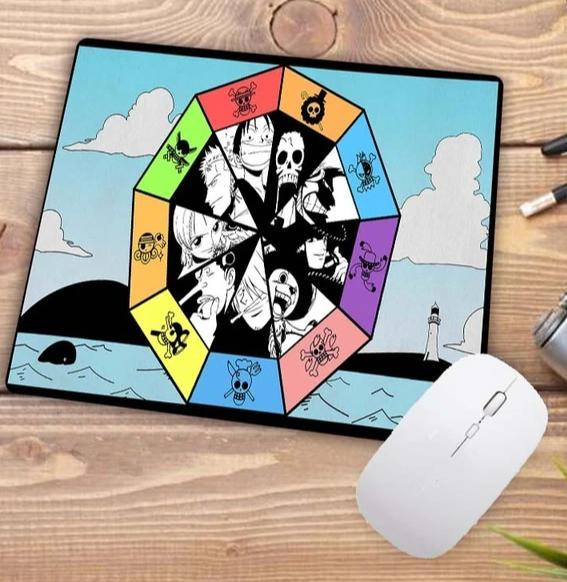 RGB 250X350X3MM Official Anime Mousepads Merch