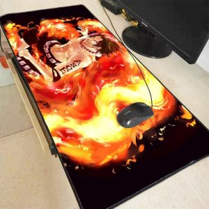 Ace Fire Wall 250X290X2MM Official Anime Mousepads Merch