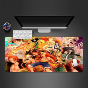 Vibrant One Piece Collage 250x290x2mm Official Anime Mousepads Merch