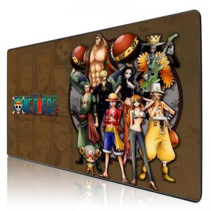 Combined Strawhat Crew 250X290X2MM Official Anime Mousepads Merch