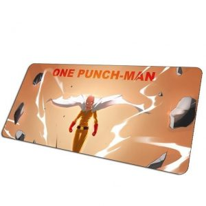 Red Eyes Saitama pad 4 / Size 700x300x3mm Official Anime Mousepads Merch