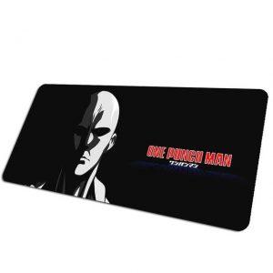 Serious Series: Strong Face Saitama pad 7 / Size 700x300x2mm Official Anime Mousepads Merch