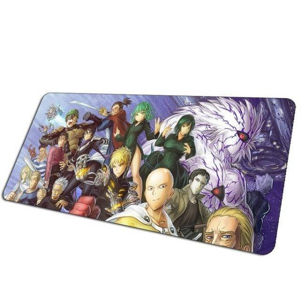 Hero Association v. Boros v. Monster Association pad 13 / Size 700x300x2mm Official Anime Mousepads Merch