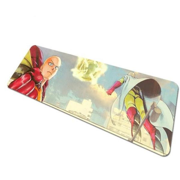 Flying Saitama pad 4 / Size 700x300x2mm Official Anime Mousepads Merch