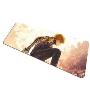 The Cyborg's Arrival pad 12 / Size 700x300x2mm Official Anime Mousepads Merch
