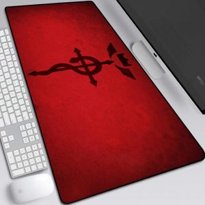 The Symbol of Flamel Style 1 / 30x25x0.3cm Official Anime Mousepads Merch