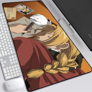 Sleepy Edward Elric Style 11 / 30x25x0.3cm Official Anime Mousepads Merch