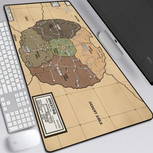Map of Full-Metal Alchemist Style 18 / 30x25x0.3cm Official Anime Mousepads Merch