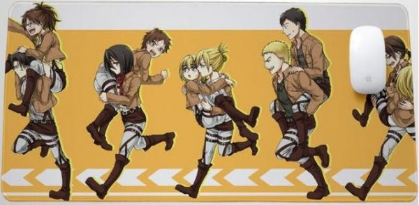 Running With Friends Style 5 / 30x25x0.3cm Official Anime Mousepads Merch