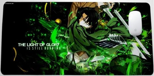 Light of Glory Levi Style 18 / 30x25x0.3cm Official Anime Mousepads Merch