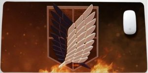 Large Survey Corps Insignia Style 20 / 30x25x0.3cm Official Anime Mousepads Merch