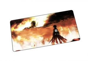 Eren Enacts Revenge Size 600x300x2mm / mat 3 Official Anime Mousepads Merch