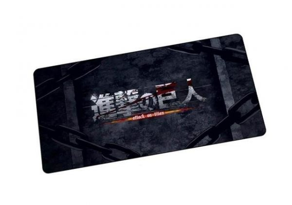 Attack on Titan's Title mat 6 / Size 600x300x2mm Official Anime Mousepads Merch