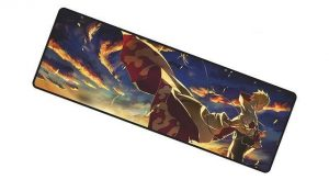 Naruto the Hokage mousemat 4 / Size 700x300x2mm Official Anime Mousepads Merch