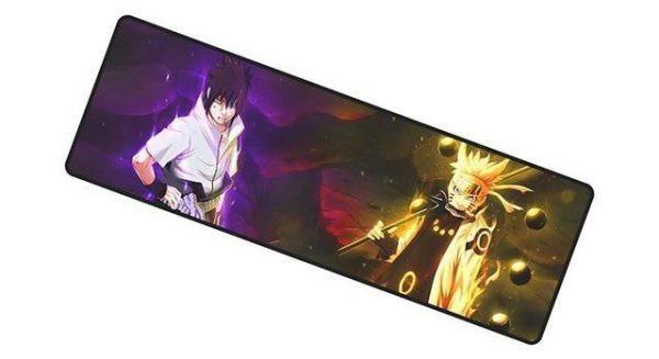 Sage of Six Paths Sasuke & Naruto mousemat 7 / Size 700x300x2mm Official Anime Mousepads Merch