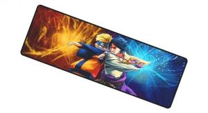 Naruto vs Sasuke Mat mousemat 11 / Size 700x300x2mm Official Anime Mousepads Merch