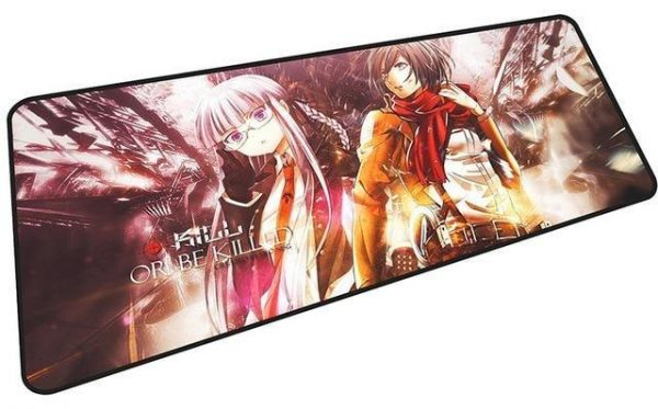 Mikasa Kill or be Killed mousepad 3 / Size 600x300x2mm Official Anime Mousepads Merch