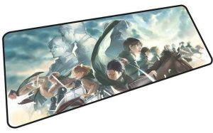 The Power of the Survey Corps mousepad 9 / Size 600x300x2mm Official Anime Mousepads Merch