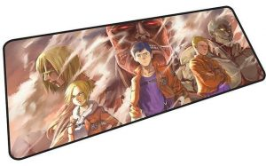 Traitors of Humanity mousepad 10 / Size 600x300x2mm Official Anime Mousepads Merch