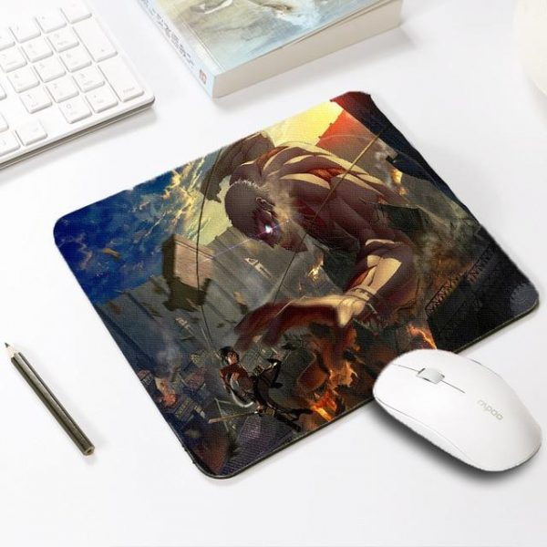 Armored Giant Smash Default Title Official Anime Mousepads Merch