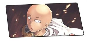 Did You See A Naked Man Run By Saitama design 8 / Size 600x300x2mm Official Anime Mousepads Merch