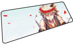 Flower Crown Todoroki mousepad 2 / Size 600x300x2mm Official Anime Mousepads Merch